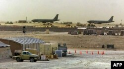 Американская авиабаза «Удэйд» недалеко от города Доха в Катаре (архивное фото)