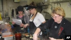 The staff at Fitz Vogt Catering makes 1,000 meals a day to be delivered to home-bound seniors in central Vermont.