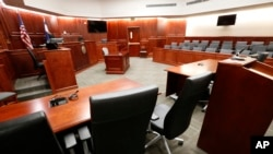 美国的一个法庭