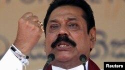 Mantan Presiden Sri Lanka Mahinda Rajapaksa (foto: dok). Mantan anggota DPR dan teman dekat Rajapaksa dihukum mati hari Kamis 8/9.