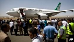 Літак іранської приватної компанії Mahan Air