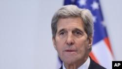 Menteri Luar Negeri Amerika Serikat John Kerry (Foto: dok).