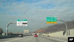 Krajnje lijeva traka ove auto-ceste u državi Utah 'vruća' je vozna traka: usamljeni vozači ju plaćaju, a vozila s više putnika - ne