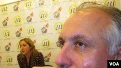 Mehman Əliyev və Lüsi Volvork