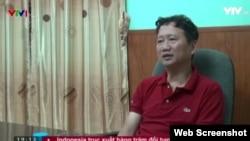 Trịnh Xuân Thanh xuất hiện trên VTV đầu thú tại Hà Nội, 3/8/2017.