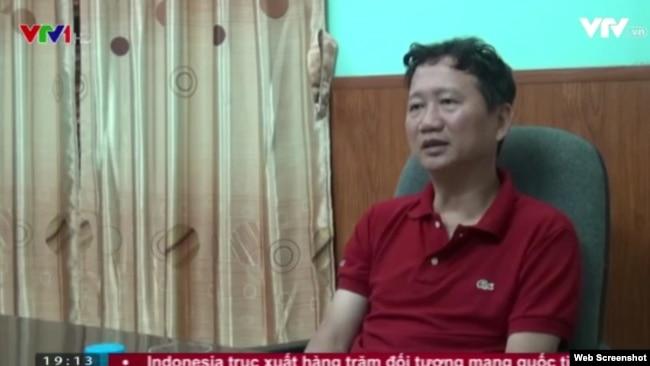 Ông Trịnh Xuân Thanh ra 'đầu thú' tại Hà Nội, VTV đưa tin vào đầu tháng 8/2017.