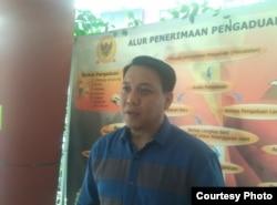 Muhammad Arsyad di Kantor Komnas HAM, Jakarta, Kamis, 8 November 2018. (Foto: dok)