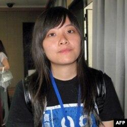 就读于武汉大学的台生潘同学