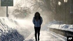 新英格蘭地區遭遇大風雪