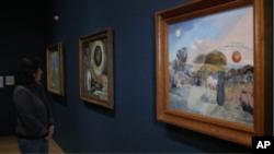 نمایشگاه بازنگری آثار پل نش (Paul Nash) در گالری تیت لندن، بریتانیا