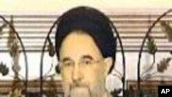 سابق ایرانی صدر محمد خاتمی