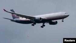 据信斯诺登乘坐的这架飞机6月23日降落在莫斯科机场