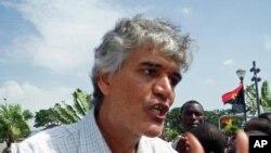 Politólogo Nelson Pestana, da Universidade Católica Angolana