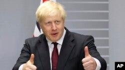 보리스 존슨 영국 총리.