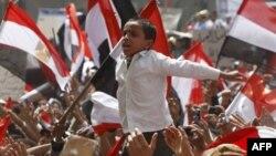 Площадь Тахир в Каире. 1 апреля 2011 года