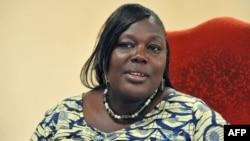 Le procureur du Burkina Faso, Maïza Sérémé, au Palais de la Justice à Ouagadougou, le 27 janvier 2016