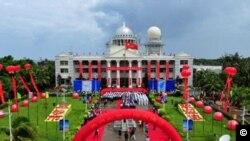 Thành phố Tam Sa được thiết lập trên một hòn đảo mà Việt Nam và Đài Loan cùng tuyên bố có chủ quyền