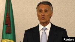Presidente português Anibal Cavaco Silva