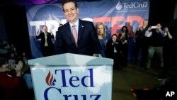 Republikanski predsednički pretendent Ted Kruz
