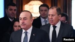 Çavuşoğlu ve Lavrov Aralık 2016'da Moskova'da bir araya gelmişti