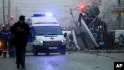 Una explosión el mes pasado en la estación de trenes de Volgogrado dejó al menos 16 muertos y más de 30 heridos.