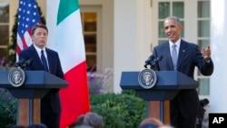 Маттео Ренці і Барак Обама