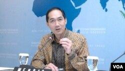 Menteri Perdagangan RI Muhammad Lutfi (VOA/Iris Gera)