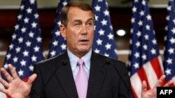Trưởng khối thiểu số Hạ viện, Dân biểu John Boehner của đảng Cộng hòa tuyên bố không chấp nhận bạo động và đe dọa