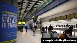 Ikibuga c'Indege Heathrow kiri i Londres mu Bwongereza