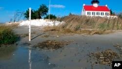 研究稱小型洪水將損害旅遊業。(資料圖片)