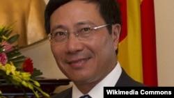 Bộ trưởng Ngoại giao Việt Nam Phạm Bình Minh