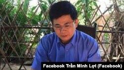"""Ông Trần Minh Lợi, chủ trang Facebook """"Diệt giặc nội xâm,"""" bị tuyên án 4 năm 6 tháng tù giam về tội đưa hối lộ."""