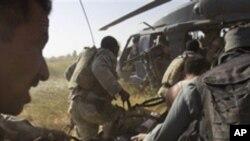 نیٹو کے ہیلی کاپٹر پر راکٹ سے حملہ، ایک ہلاک