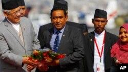 """""""یامین عبدالقیوم"""" از زمان ریاست جمهوری مالدیو در سال ۲۰۱۳، چندین بار به عربستان سفر کرده است."""