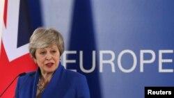 Прем'єр-міністр Тереза Мей заявила, що хоче, аби Британія вийшла з ЄС набагато раніше