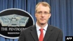 Juru bicara pers Departemen Pertahanan AS, George Little membantah AS menerjunkan komando ke Korea Utara (foto: dok).