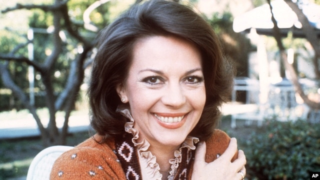 Dec. 1, 1981 file photo shows actress Natalie Wood.
