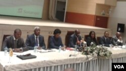 Conferência de imprensa da Sonangol