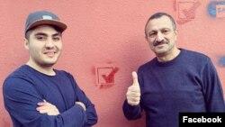 Tofiq Yaqublu və Mehman Hüseynov (Foto Mehman Hüseynovun səhifəsaindədir)
