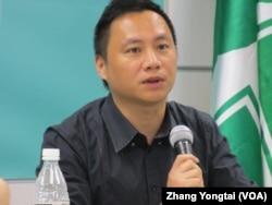 六四民运领袖 王丹(美国之音张永泰拍摄)