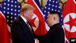 Trump û Kim li Hanoi