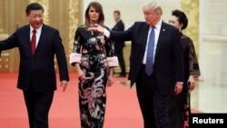 美媒:川普去年访华时美中安全人员短暂冲突