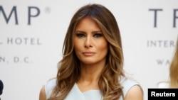 Первая леди страны Мелания Трамп