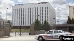 Здание посольства Россиия в США. Вашингтон, Округ Колумбия
