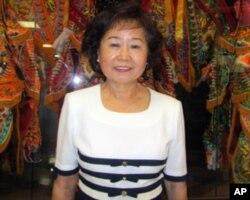 洪珠美乐见电音三太子在台湾书院展出