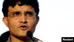 بھارتی کرکٹ ٹیم کے سابق کپتان سوریو گانگولی۔ فائل فوٹو