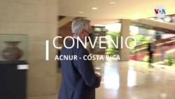 Alto Comisionado para los Refugiados de las Naciones Unidas Filippo Grandi en Costa Rica