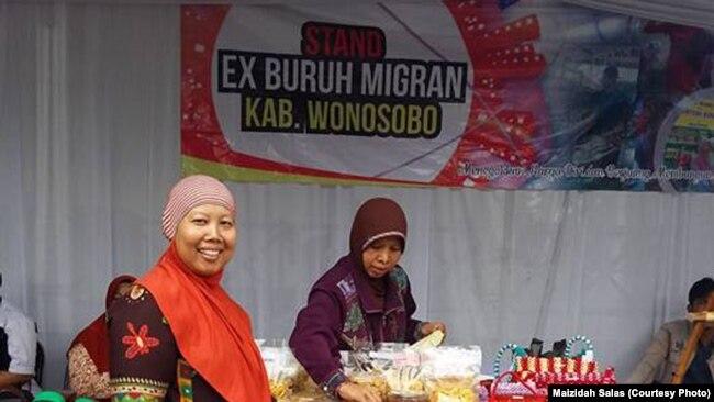 Maizidah Salas perintis Kampung Migran di Wonosobo, Jawa Tengah (courtesy: Maizidah Salas)