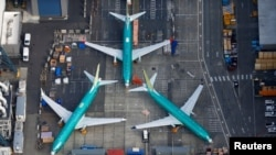 «Боинг-737 MAX» на земле
