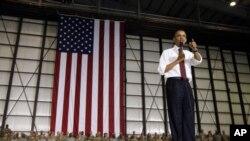"""Obama hizo un reconocimiento a las tropas al decir que """"este futuro sólo lo hemos podido construir gracias al esfuerzo de nuestros hombres y mujeres en uniforme""""."""